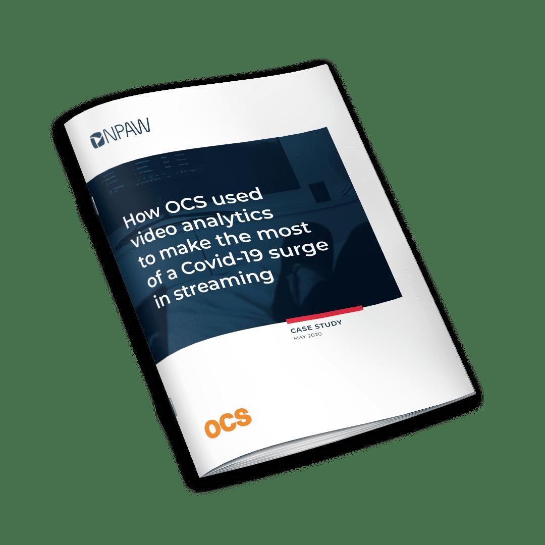OCS 社は、どのようにビデオアナリティクスを駆使して、コロナ禍におけるストリーミングの急増を最大化したのか